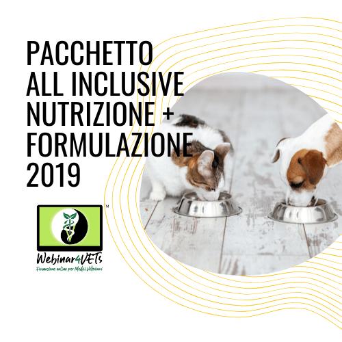 Pacchetto Nutrizione + Formulazione 2019-2020